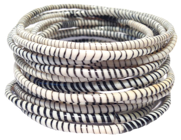 Recycled Rubber Bracelets Ivory Made With Love Project And Jewellery In Africa Brazil